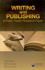 Book: Writing and Publishing a Public Health Research Paper